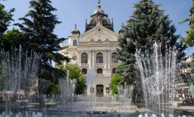 The slovak city of Kosice.  Source: Kosice State Theatre