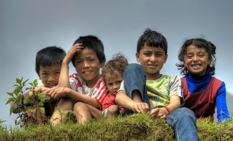 Children / Photograph: Wikimedia