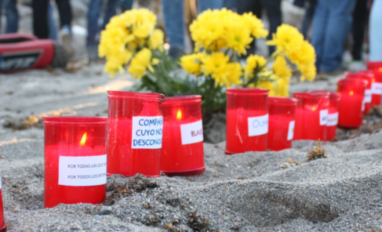 The organization proposes to bring candles to rallies with the names of people who lost their lives.