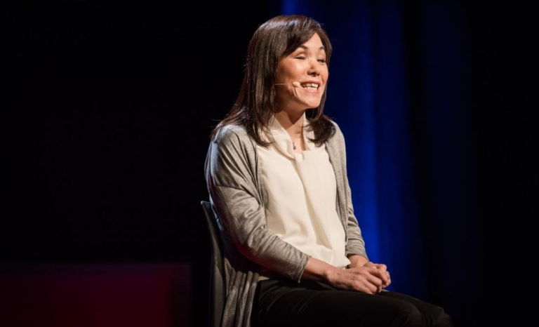Chieko Asakawa developed a web browser reader - Photo: TED