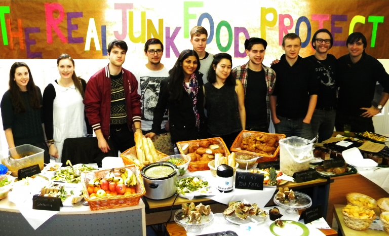 The Real Junk Food volunteers / Photograph: Indiegogo