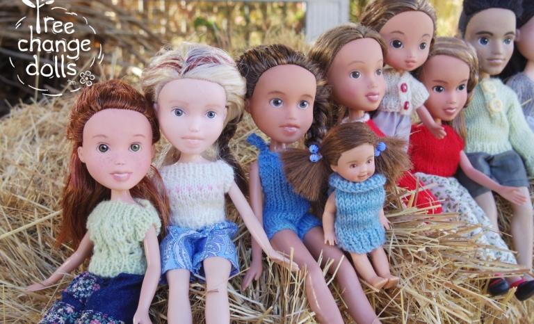 Dolls. Photo: Tree Change Dolls