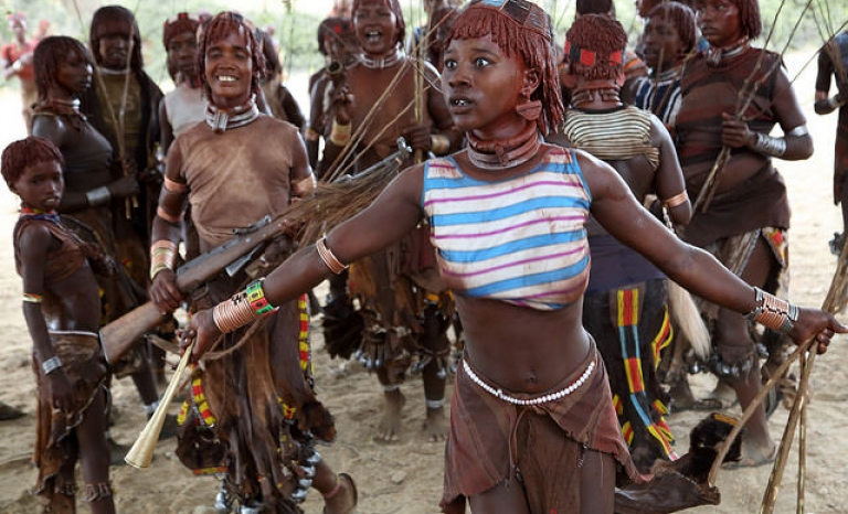 Indigenous communities in the Congo Basin have suffered human rights violation. Photo: Dietmar Temps, Flickr