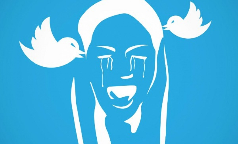 Redesign of Twitter's Logo. Photo: UNICEF