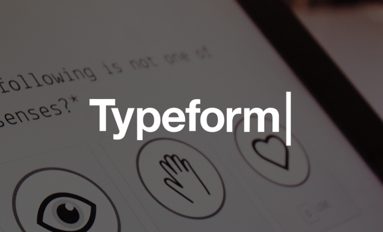 Typeform allows you to creat interactive and dynamic forms / Image: Typeform