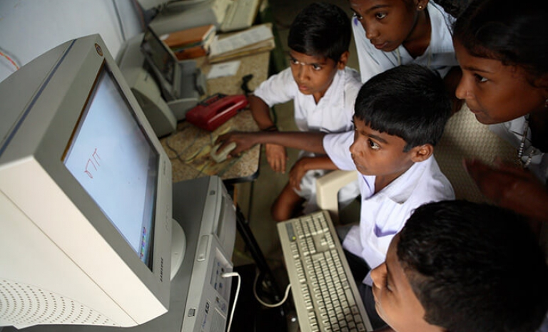 There are increasingly computer donation programs for NGOs in vulnerable territories.