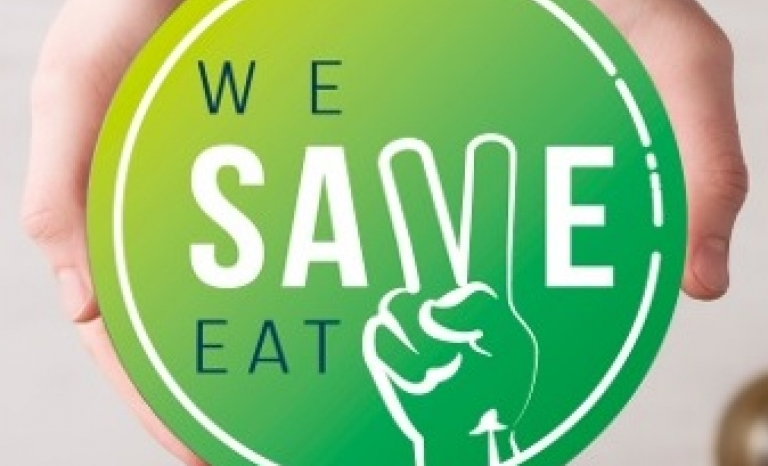 We Save Eat's Logo. Photo: We Save Eat