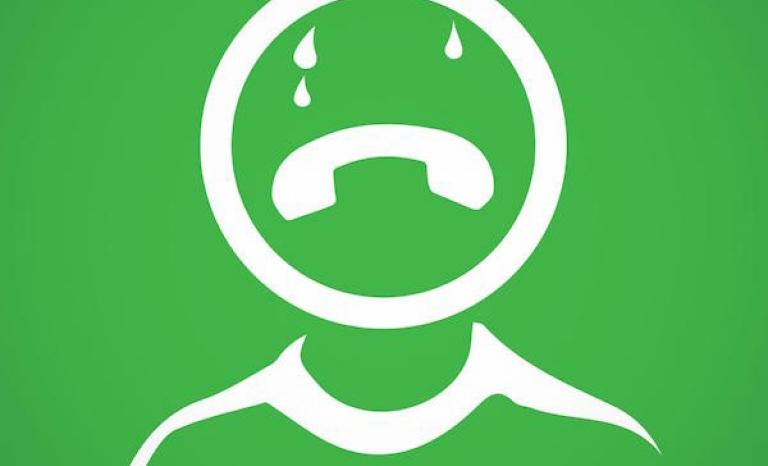 Redesign of Whatsapp's Logo. Photo: UNICEF