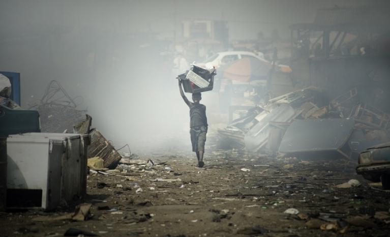 """Kids of Sodom - E-waste in Ghana""."