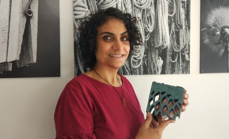 Nadia Ghulam, writer and peace activist.