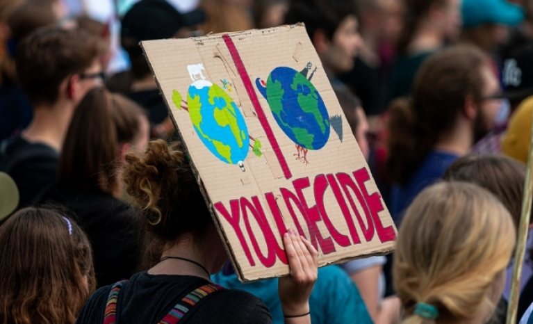 Humans consume the same amount of ecological resources as if we lived in 1.6 Planets.