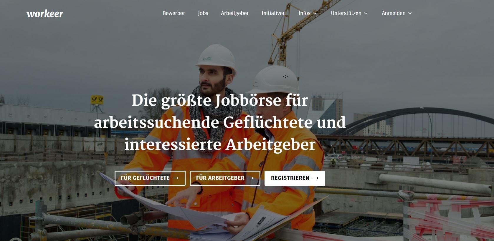 Registrieren für Arbeitssuchende